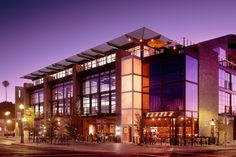 Studios in Tempe, AZ, is an award-winning modern office and retail building designed by Mike Rumpeltin Architecture Artists, Architecture Office, Contemporary Architecture, Office Buildings, Mix Use Building, Building Design, Facade Design, House Design, Shopping Mall Architecture