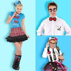 Cute Nerds Costumes.