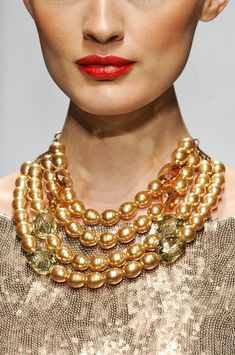 Gold pearls!
