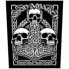 Amon Amarth Jomsviking Patch dossard noir