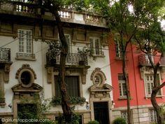 Colonia Roma, Mexico City. Neighborhood where I was born, and mom was born.