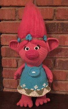 Poppy the Troll - CROCHET