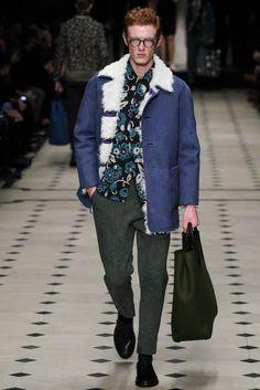 Mouton coat? cute colour Burberry Prorsum Fall 2015 Menswear - Collection - Gallery - Style.com