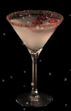 Winter white Cosmo at Bonefish. My favorite!!!!