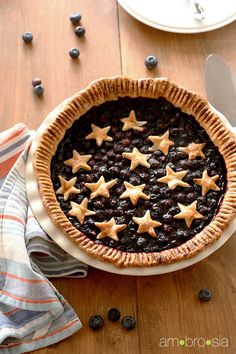 Blueberry Pie by Ambrosiabaking