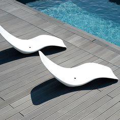 Transat piscine Aloha  #bain de #soleil #transat #fauteuil #outdoor #garden #folding #chair #sunbath #jardin #détente #mobilier de #jardin #extérieur #piscine #chaise #longue