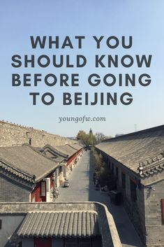 Here are the things that you should know before going to Beijing. Beijing is one of the most popular cities in the world and should be on everyone's bucket list. If you are going to Beijing, here are the things you should know before packing your bags. China Travel Guide, Asia Travel, Travel Tips, Beach Travel, Budget Travel, Travel Ideas, In China, China Trip, Places To Travel