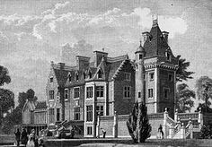 Eastbury Park, Northwood 1857, designed by D Bryce, sold to the RAF 1938- burned down & lost 1969