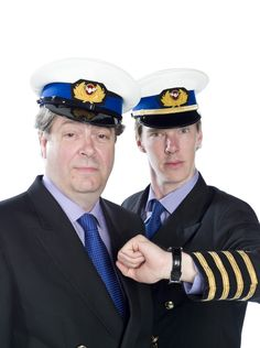 Roger Allam and Benedict Cumberbatch on Cabin Pressure! If you haven't listened to the radio series you need to!