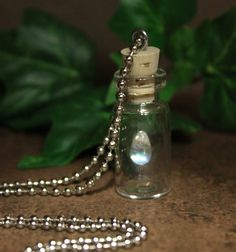 Faery tear - said to give mortals the Power to See the Spirit Realms
