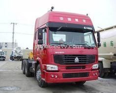 Sinotruk Howo 6*4 Tracor (ZZ4257N3247C1) - China ;tractors;tow tractor, SINOTRUK
