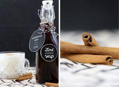 Zimtsirup Sirup Weihnachten Zimt Geschenk aus der Küche Rezept