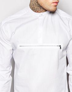 ASOS - Shirt with Zipper