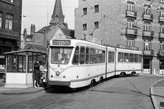 Retro Brussels Tram