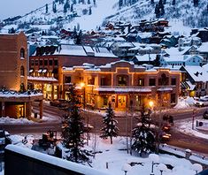 You'll find three of the country's finest ski resorts in Park City, a 19th-century town east of Salt Lake famous for its winter sports. Off the mountain, its wide range of cultural, shopping, and dining opportunities resulted in high scores in such diverse categories as girlfriend getaways (No. 3), gay-friendly vacations (No. 9), and family vacations (No. 9). T+L readers also like to call Park City home for the holidays, voting it the No. 1 Christmas destination.