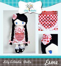 LilyandAndie Dolls - No101 ©LilyandAndie Dolls 2011