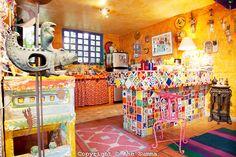 mexican painted kitchen | Anado McLauchlin and Richard Schultz home, La Cienegita, Mexico | Ann ...
