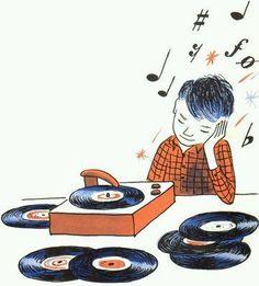 Vinyl Music, Vinyl Art, Vinyl Records, Music Love, Music Is Life, Good Music, Dj Music, Vintage Records, Vintage Children's Books