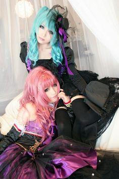 Hatsune Miku and Megurine Luka (VOCALOID)