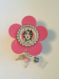 Check out this item in my Etsy shop https://www.etsy.com/listing/258098343/retractable-pink-vintage-tattoo-nurse