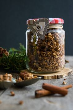 Healthy Desserts, Healthy Recipes, Gourmet Gifts, Xmas Food, Greens Recipe, Herbal Remedies, Granola, Herbalism, Healthy Lifestyle