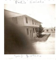 Fort Wolters barracks