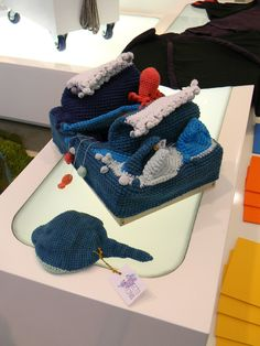Crochet es storybook landscapes