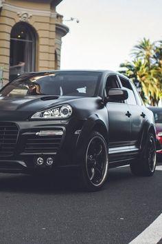 Porsche cayeene matte black