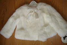 Look 4. White Fur Coat.