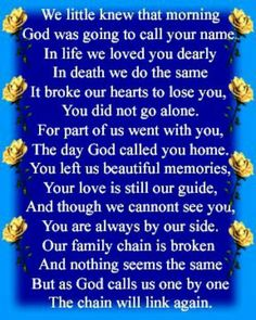 Deceased Mother Birthday Quotes | ... Mother.htm ...