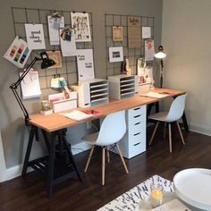 Innenministerium modern home office ideas for small spaces - Your Own Home Interior I Mesa Home Office, Home Office Space, Office Workspace, Home Office Desks, Home Office Furniture, Office Decor, Office Ideas, Desk Ideas, Furniture Design