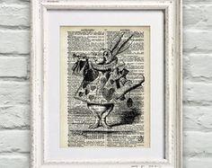 Poster Página de Dicionário Alice