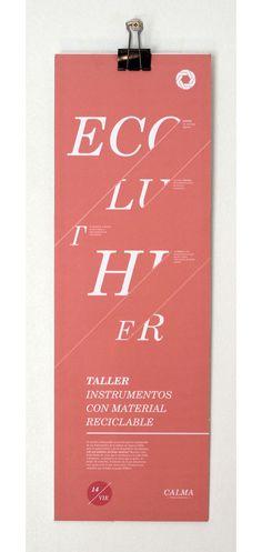 Poster design by Estudio Tricota