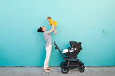 From the car to strolling, the  @orbitbaby G3 Stroller moves with you. LOVE! #PNpartner