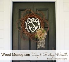 Wood-monogram-spring-wreath-burlap