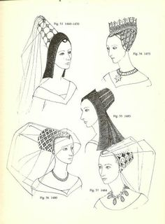 Medieval hairdress