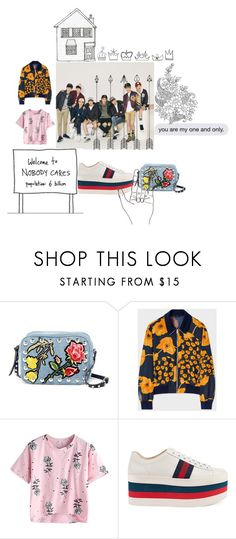 """""""E.X.Oset#"""" by chante3105 ❤ liked on Polyvore featuring Steve Madden, Paul Smith and Gucci"""