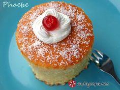 Κέικ με ινδοκάρυδο και σιρόπι #sintagespareas Sweet Desserts, Doughnut, Pudding, Sweets, Cookies, Cake, Recipes, Food, Greek Beauty