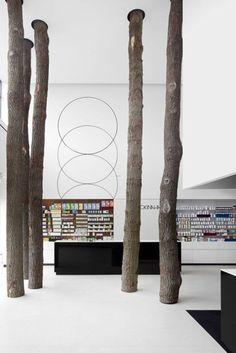 Bäume im Office!!!  Okinaha shop /Coast agency + As-Built Architects / Follow my INTERIORS board!