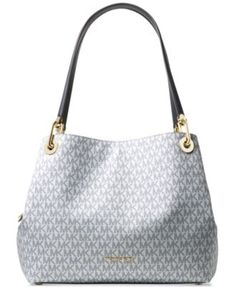 1fa7411d7e96 Michael Kors Signature Raven Large Tote & Reviews - Handbags & Accessories  - Macy's