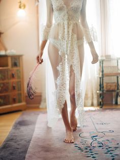 Beautiful bridal robe - great for a honeymoon or for your everyday!