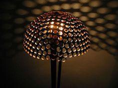 olivetree stunning furniture design Tree Lighting, Unique Lighting, Interior Design Major, Copper Art, Copper Rings, Recycled Lamp, Repurposed, Chandelier Lamp, Chandeliers