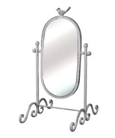 Bird Metal Table Mirror | Daily deals for moms, babies and kids