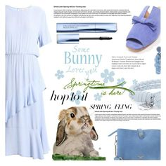 """Warmer Days Ahead: Spring Dresses"" by crochetragrug ❤ liked on Polyvore featuring Bottega Veneta, John Lewis and Sachin + Babi"