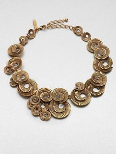 Spiral Collar Necklace