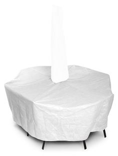 KoverRoos DuPont Tyvek 21361 Large High Back Dining Set Cover With Umbrella  Hole 112 By 88. Patio Umbrella CoversPatio UmbrellasSet ...