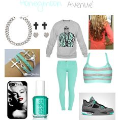 """Honeymoon Avenue'"" by janiaforeverr on Polyvore Cheap Jordan 4 only $47, save up to 73% off for all #Nikes #Shoes"