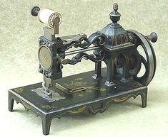 """This particular Shaw & Clark model is known as the """"Open Tower"""". It was produced in the early 1860s and pre-dates the similar """"closed tower"""" machine."""