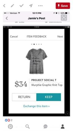 Dear Stitch Fix Stylist - who doesnt love a good fitting, comfortable Graphic Tee????