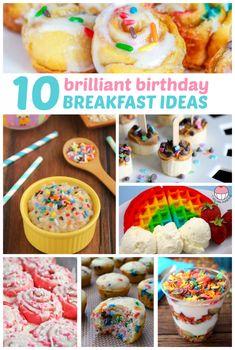 Brilliant birthday breakfast ideas because everyone should feel special on their birthday!